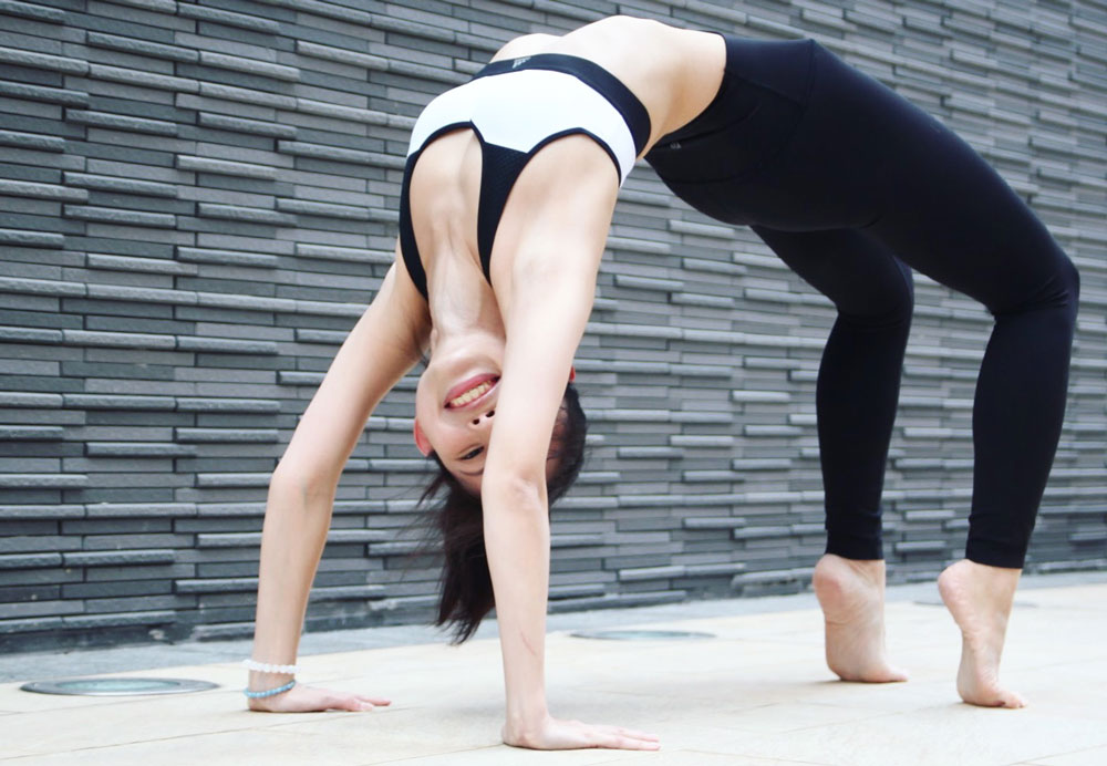 Matina Cheung: Teaching Yoga in Hong Kong