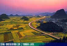 Qujing guide - luoping yunnan images