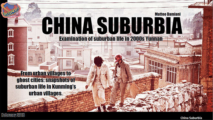 china suburbia - Chinese urban villages