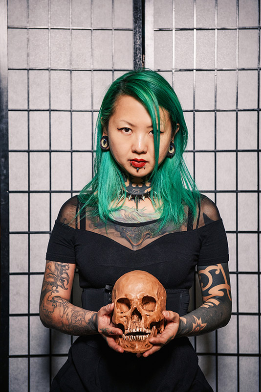 zhuo dan ting-china tattoo artist