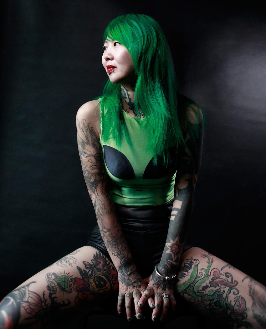 Zhuo Dan Ting, China\'s Queen of Tattoos - China Underground