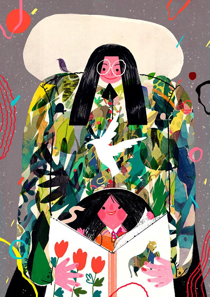 New York illustrator Lisk Feng