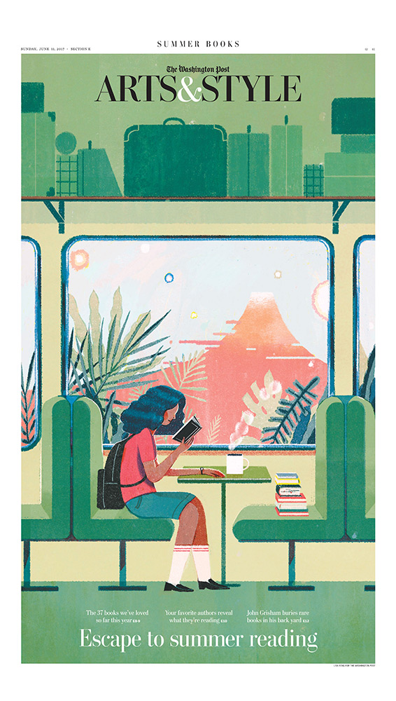 New York illustrator Lisk Feng