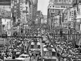 Robin Moyer, Nanjing Road in Shanghai, 1988