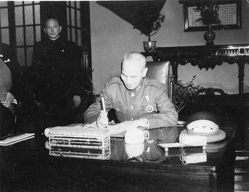 chinese-civil-war-Chiang Kai-shek