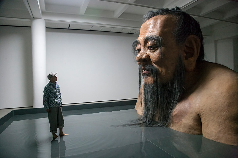 Zhang Huan portrait