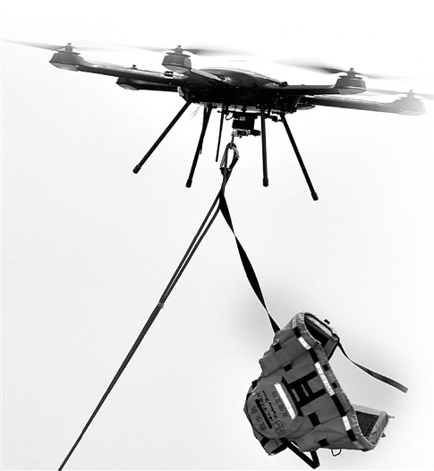 firefighter drones
