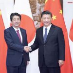 xi-jinping-shinzo-abe-China and Japan economic ties