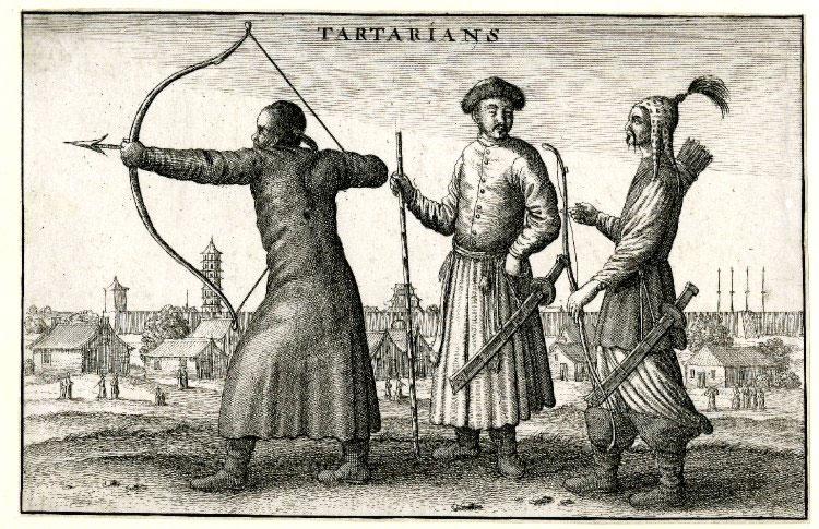 Tartarian man standing