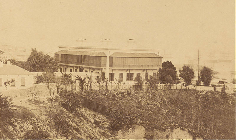 Modern-Building-and-View-of-Hong-Kong-1860