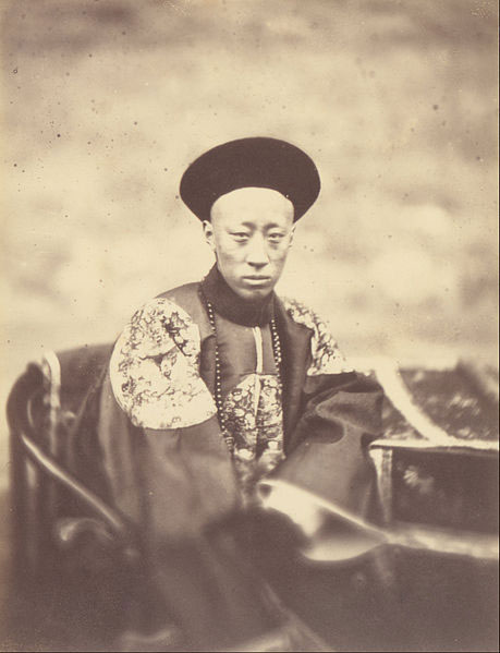 Portrait-of-Prince-Kung,-Brother-of-the-Emperor-of-China,-Who-Signed-the-Treaty