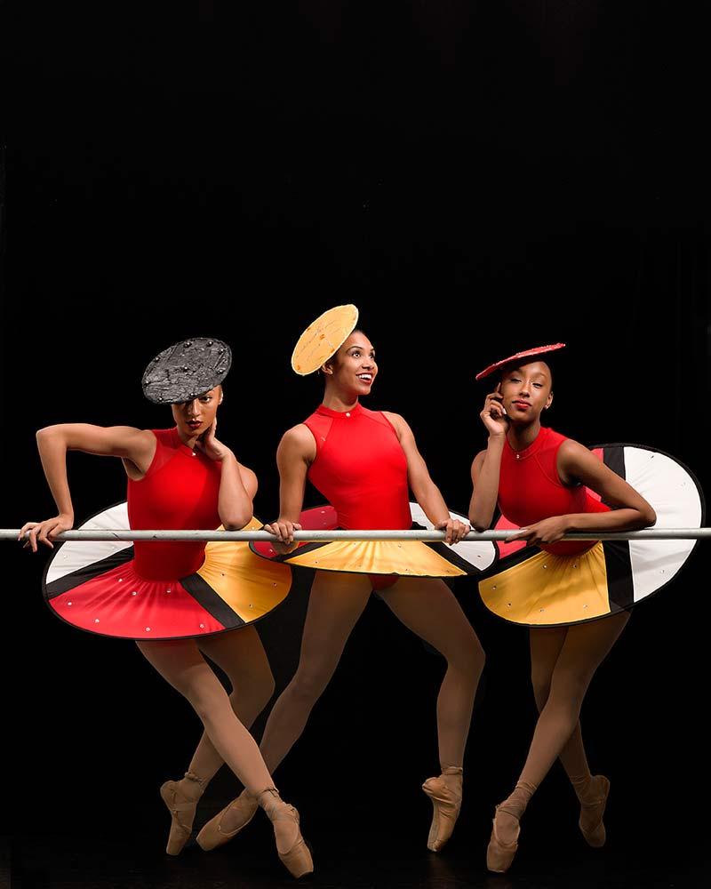 Hiplet-Ballerinas