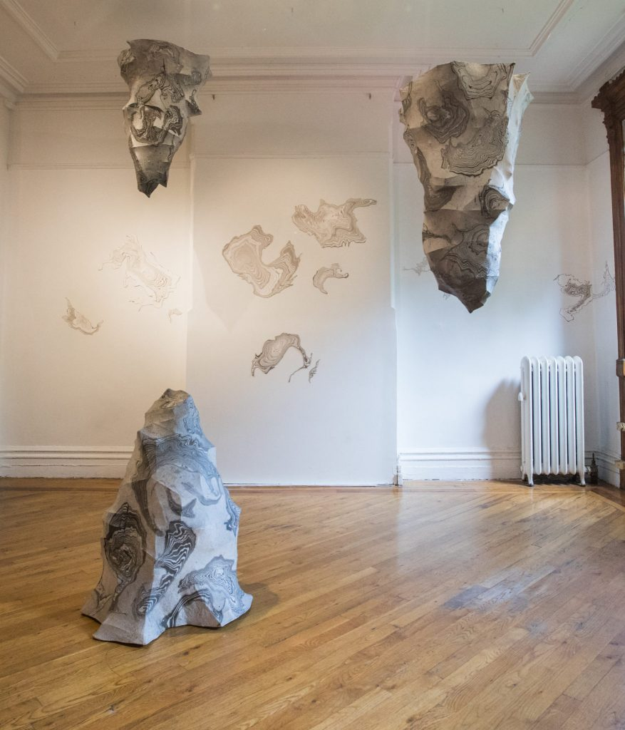 exhibition of Jisook Kim & Hilda Shen: Orogenies in New York