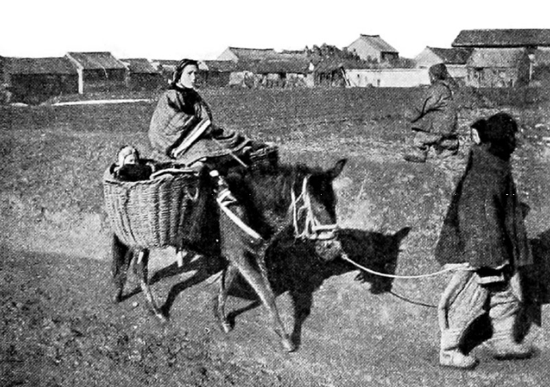 A Manchurian Family Travelling