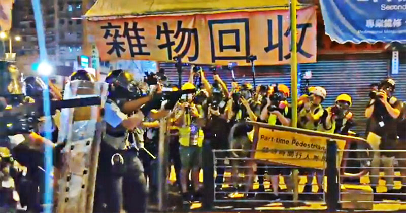 trump hong kong protests