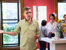 Michael Eade Opening Reception - Photo by Nadia Peichao Lin, courtesy Fou Gallery