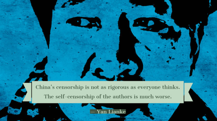 China's censorship is not as rigorous as everyone thinks. The self-censorship of the authors is much worse