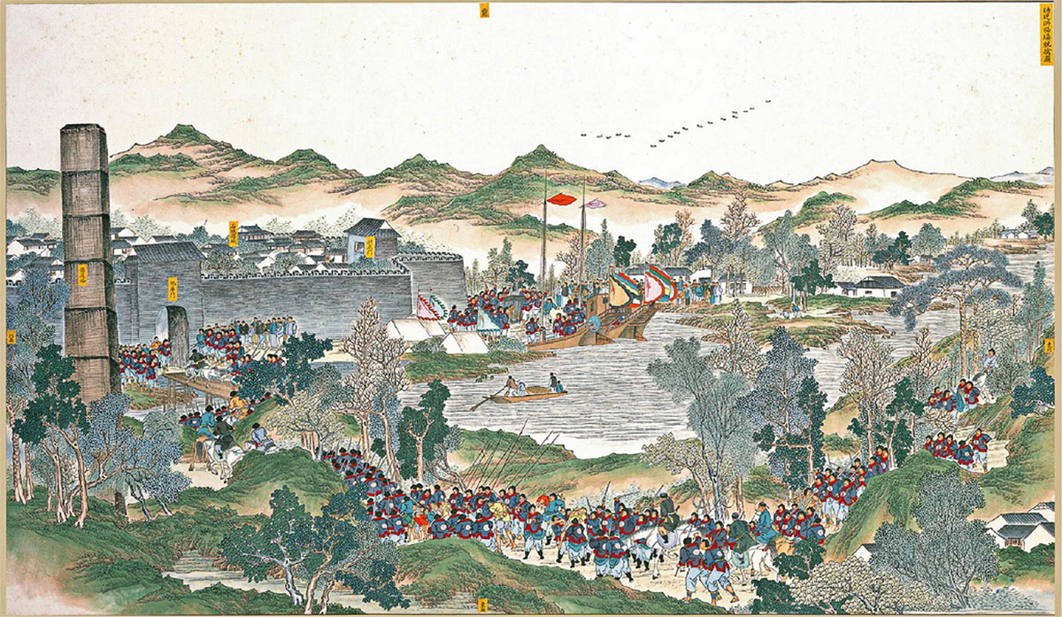 Capture of the Junior traitor Hong Fuzhen, second scene