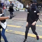 protester shot by police as anti-government violence escalates
