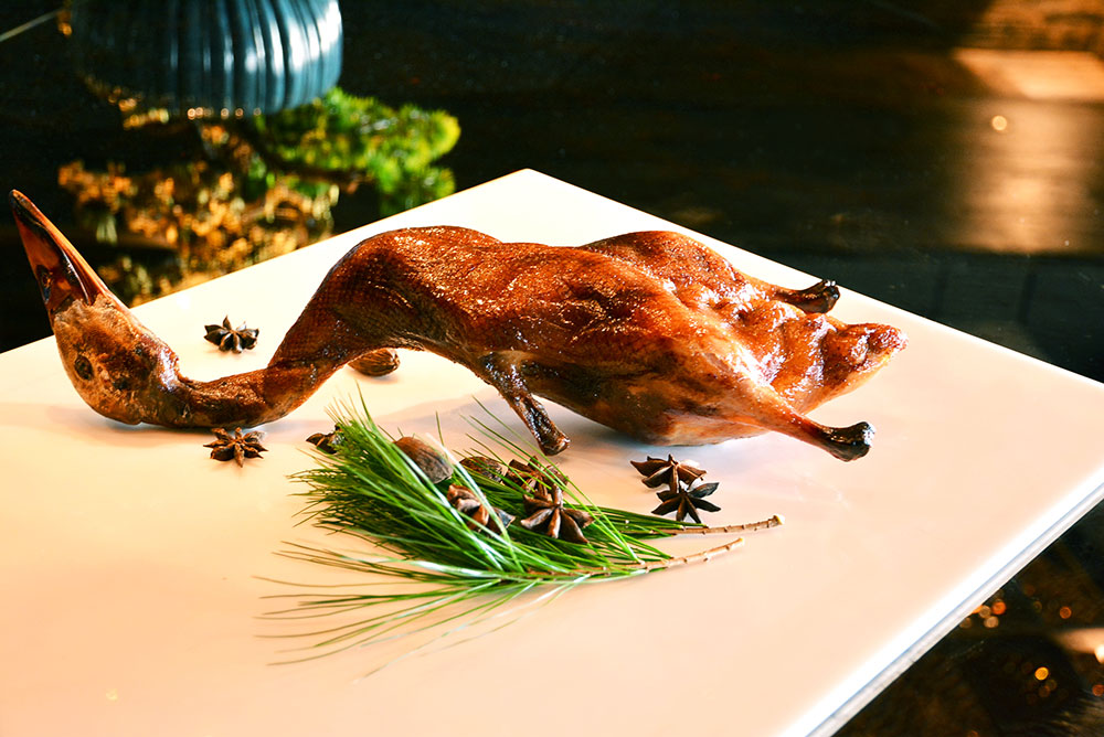 roasted duck chinese cuisine