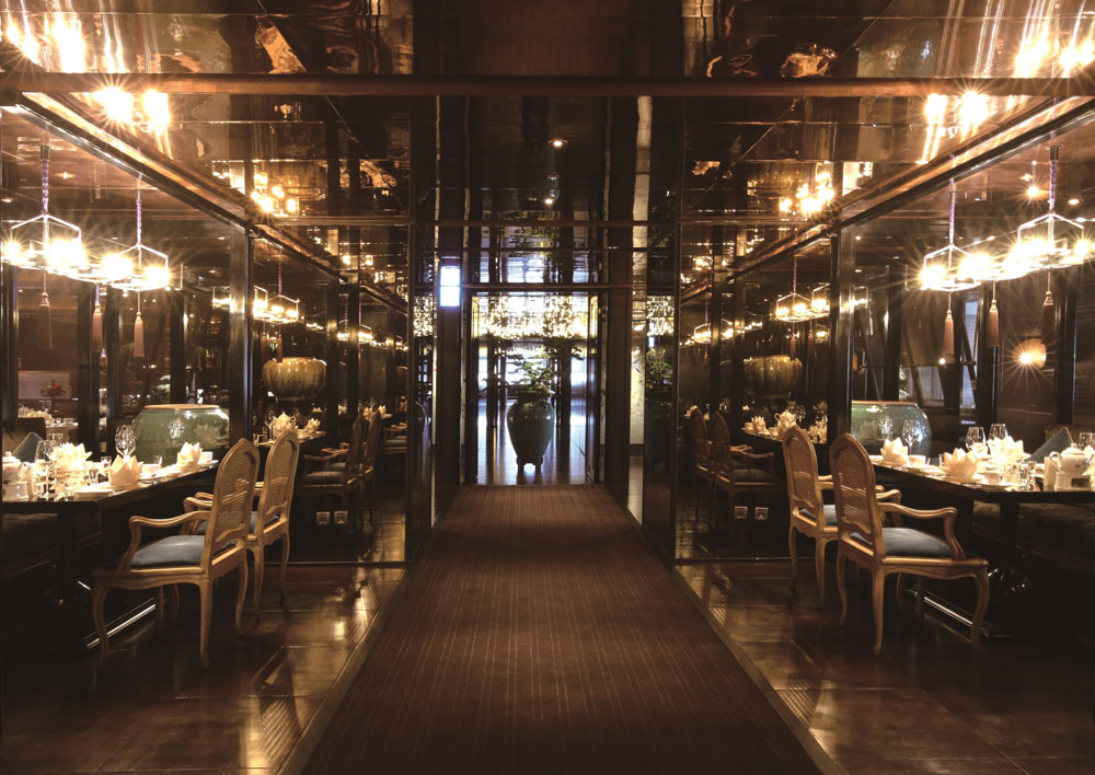 Cantonese restaurant Le Palais 頤宮 is located in central Taipei's historic Datong District