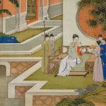 Empress Mingde Taking Care of Grandchildren
