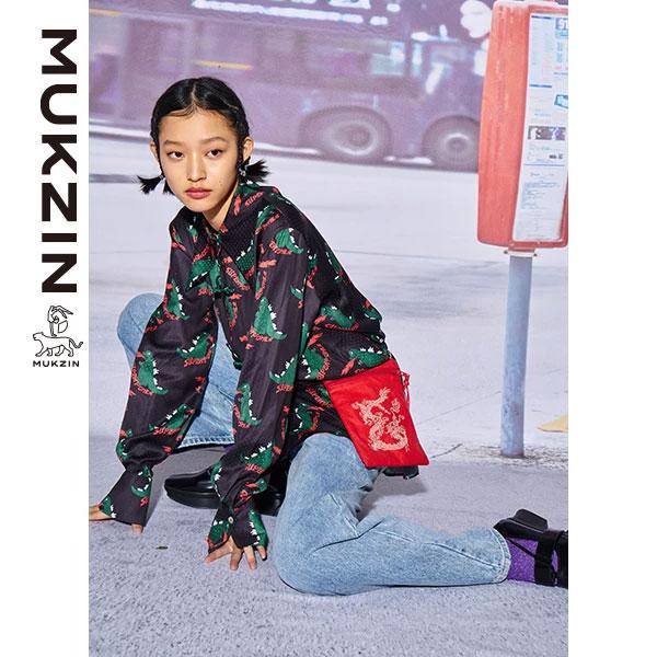 Mukzin-Designer-Brand-Cartoon-Character-Print-Shirt