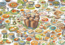 food illustrator lee xin li_food illustrations