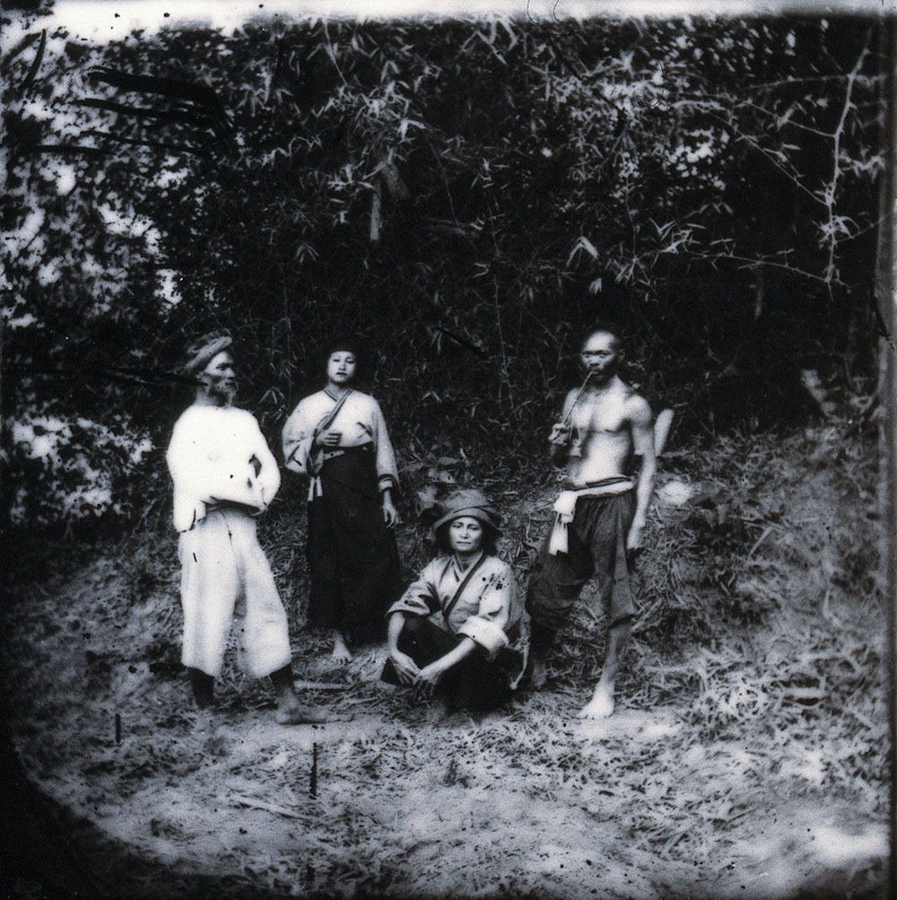 Baksa, Formosa [Taiwan]. Photograph, 1981, from a negative by John Thomson, 1871.