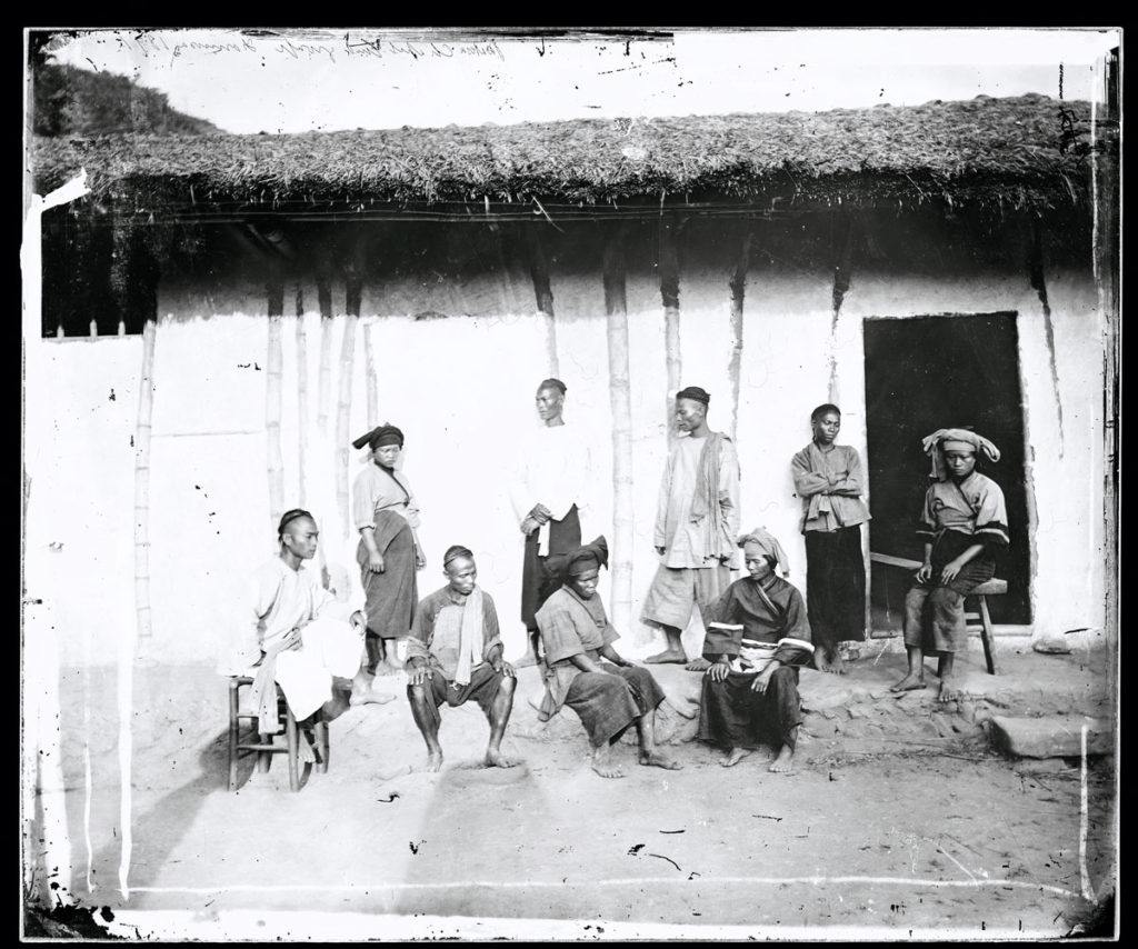 "Pepohoan natives, Formosa, China. Bears Thomson's negative number: ""759"""
