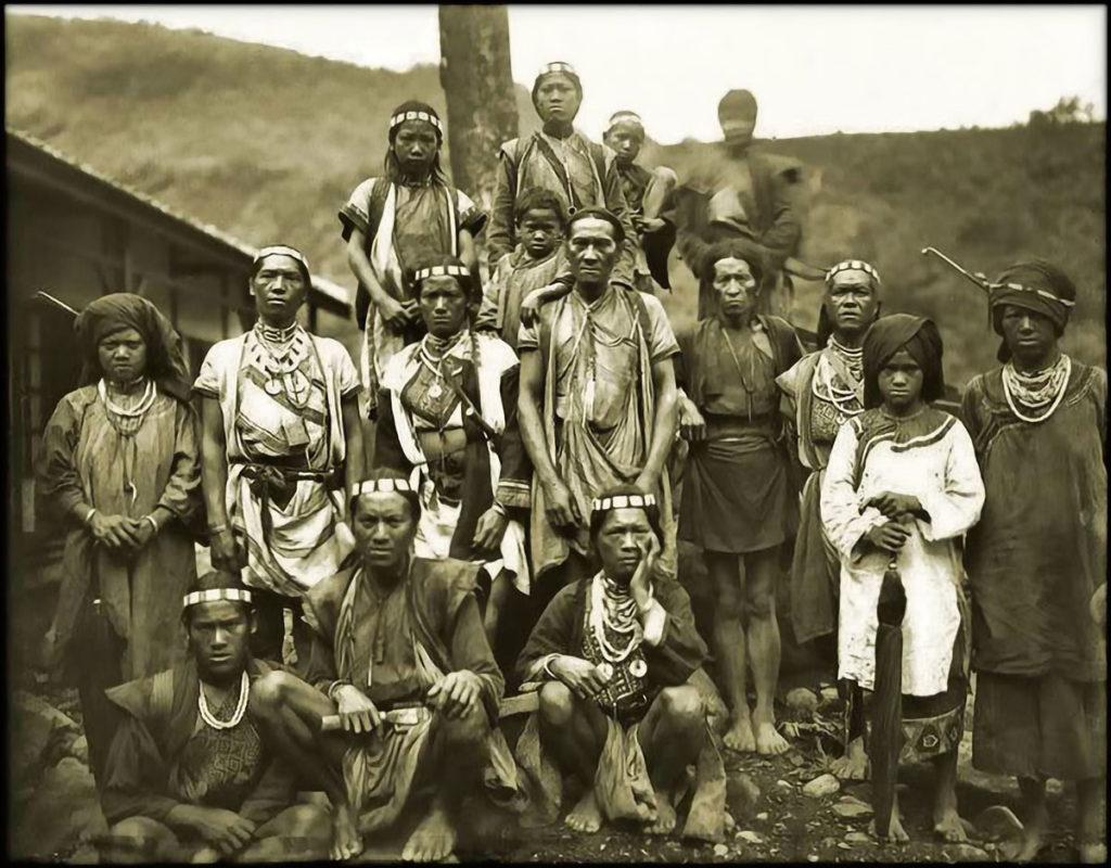 Taiwan Aborigines, Bunun Tribe, Formosa (c1900)