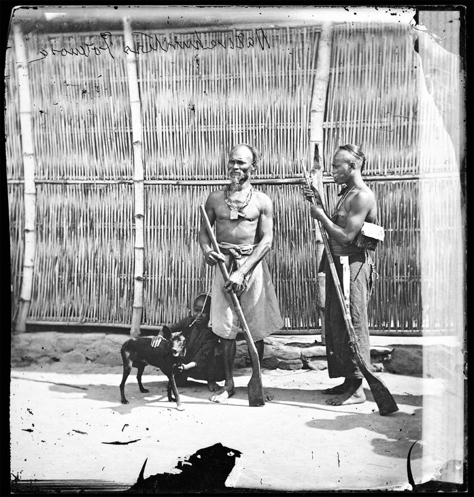 Native hunters, Formosa by John Thomson