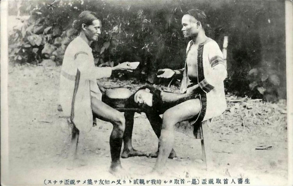 Taiwan aborigines headhunting