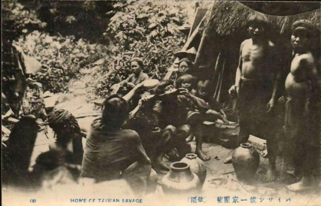 Taiwan aborigines drinking