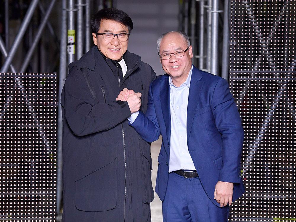 Li-Ning : Paris Fashion Week - Menswear Fall Winter 2020-21-Jackie Chan