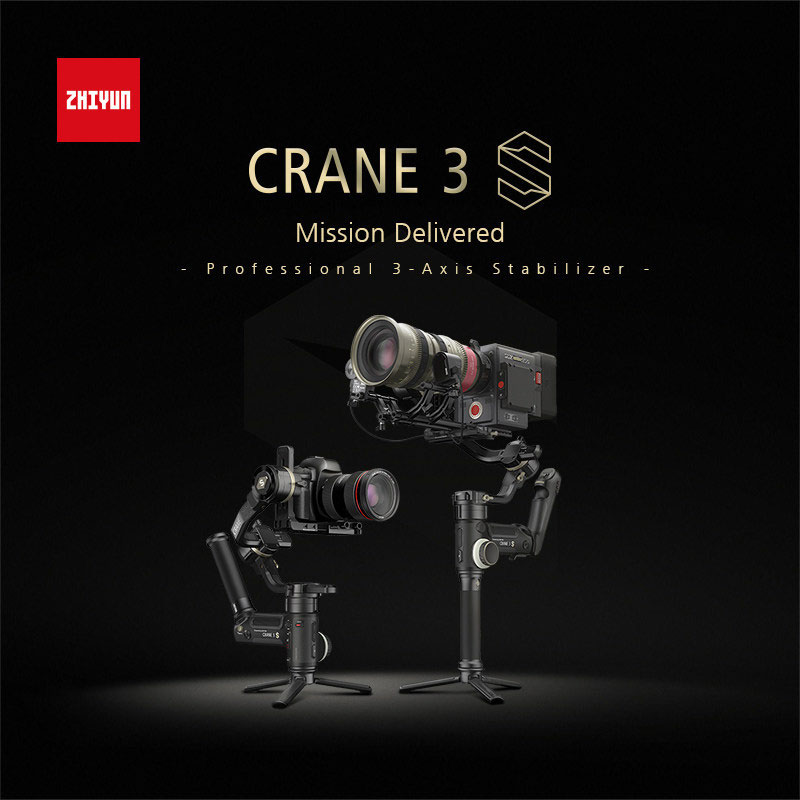 Zhiyun-Announces-CRANE-3S,-a-Stronger-and-More-Versatile-Gimbal-Ready-for-Every-Challenge