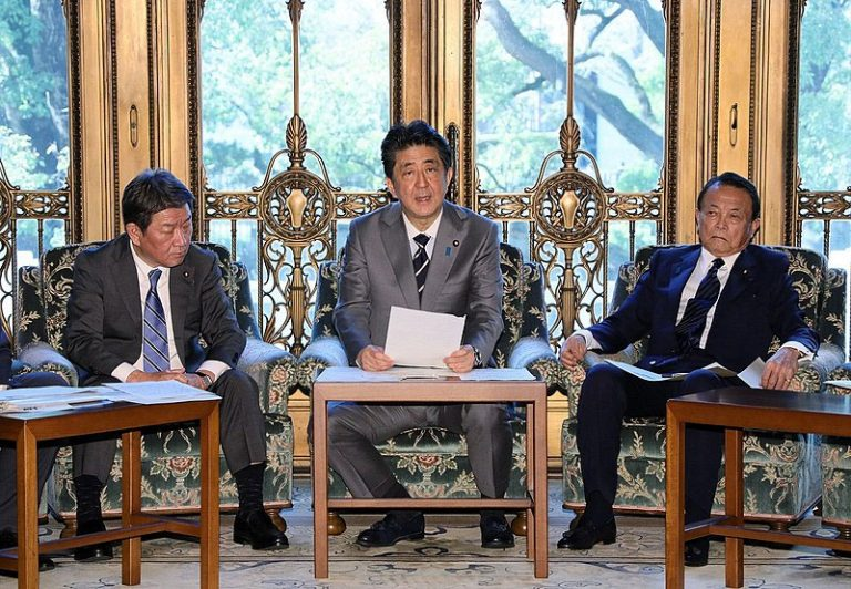 shinzo-abe---Taro-Aso-Japan national security list