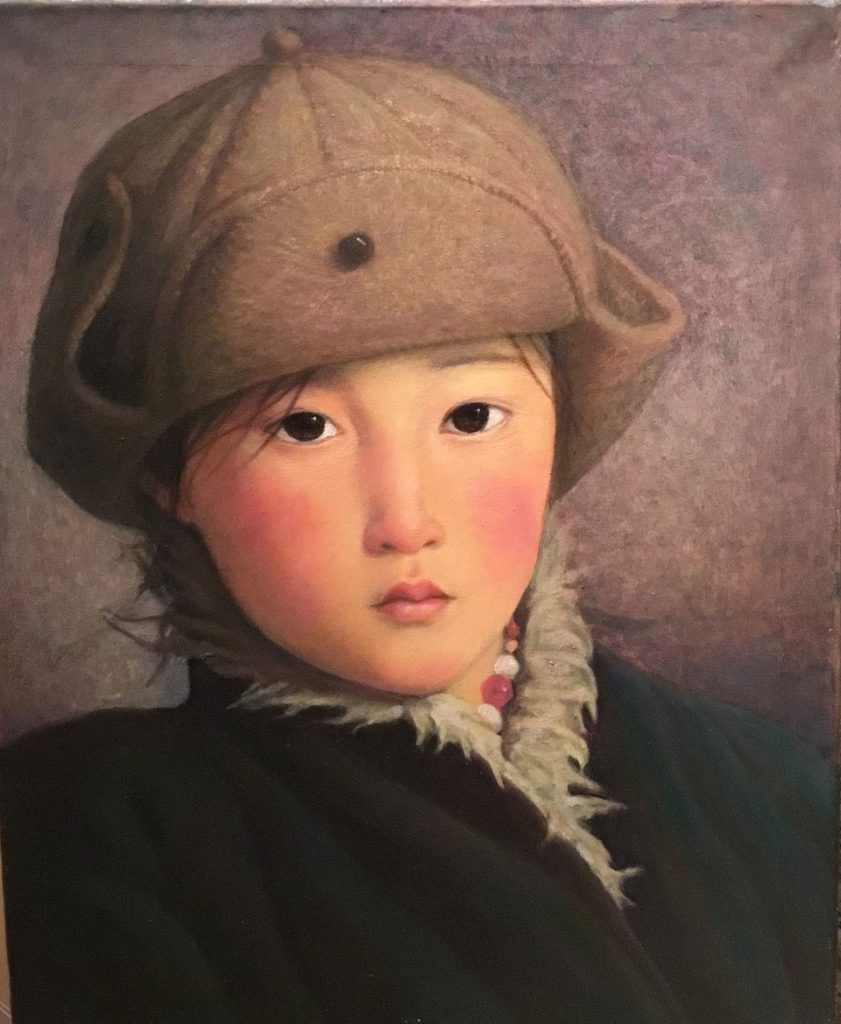 Xue Mo painter mongolia