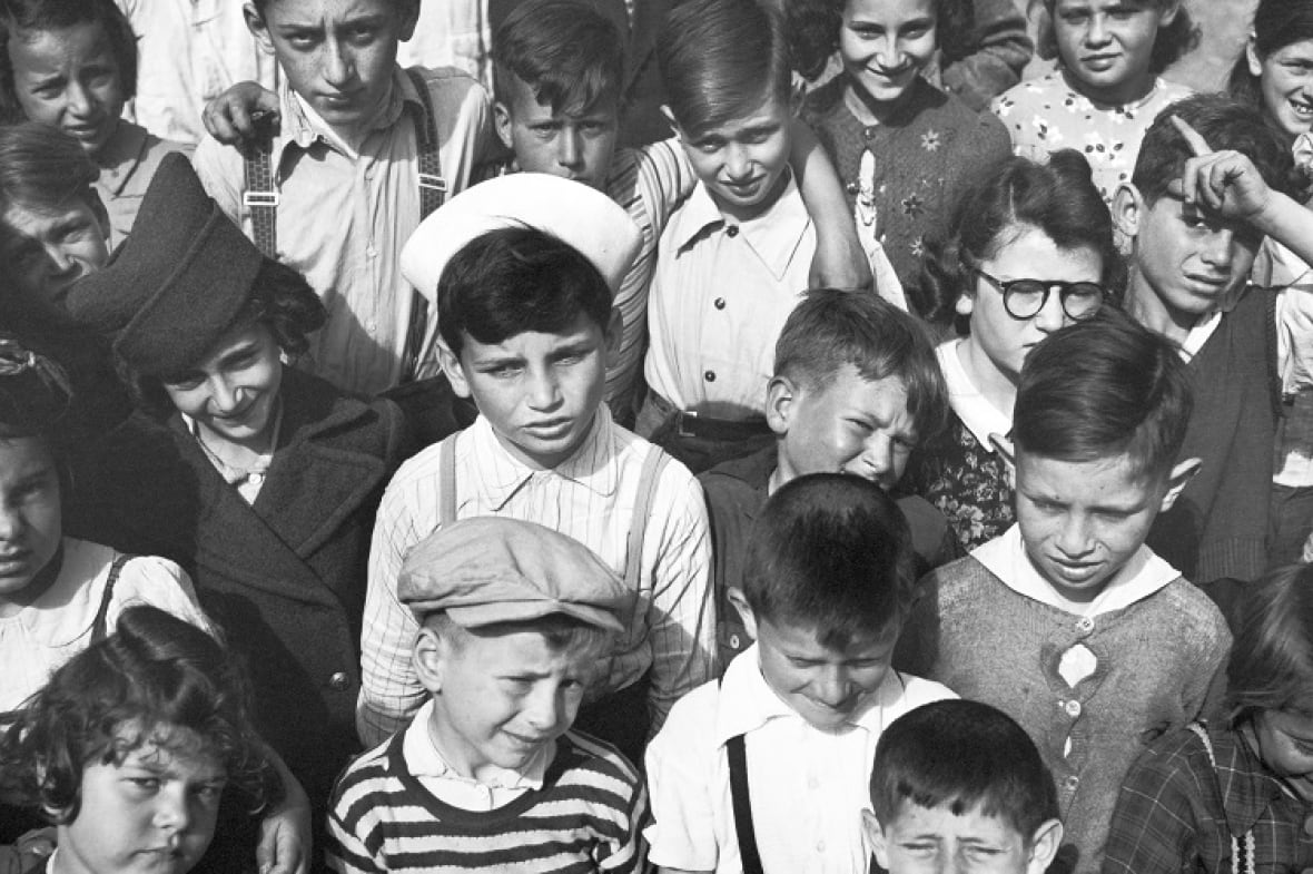 Many children of Jewish refugees were born in China. All of these children knew how to speak German and English, but few learned Chinese. (Arthur Rothstein)