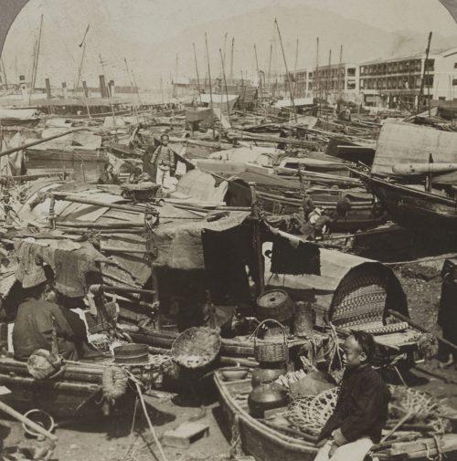 35+ Evocative Old Photos & Stereographs of Hong Kong