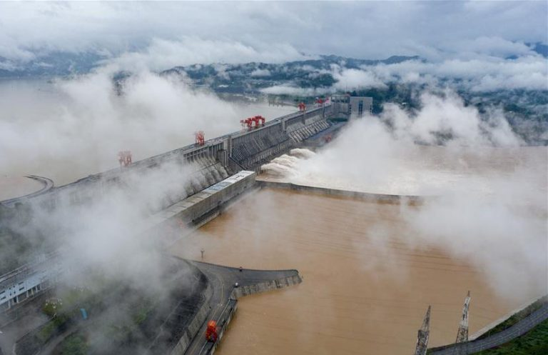 Three gorges dam_ China floods 2020