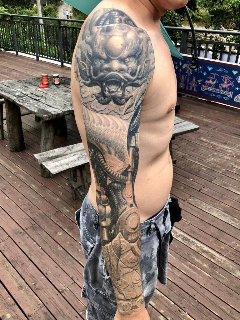 000 Heng Yue chinese tattoo artist