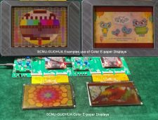 New Full-color Video Electronic Paper Display in China
