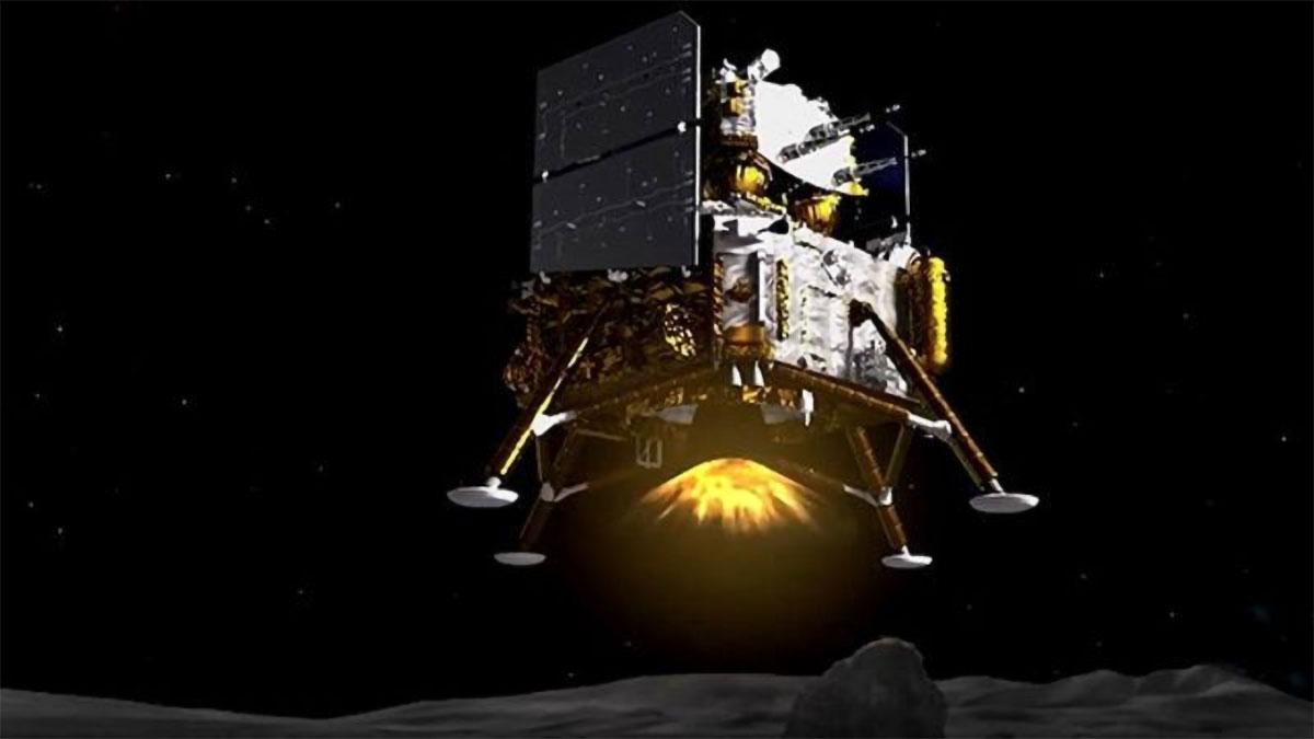 Chang'e-5 Moon Mission Probe
