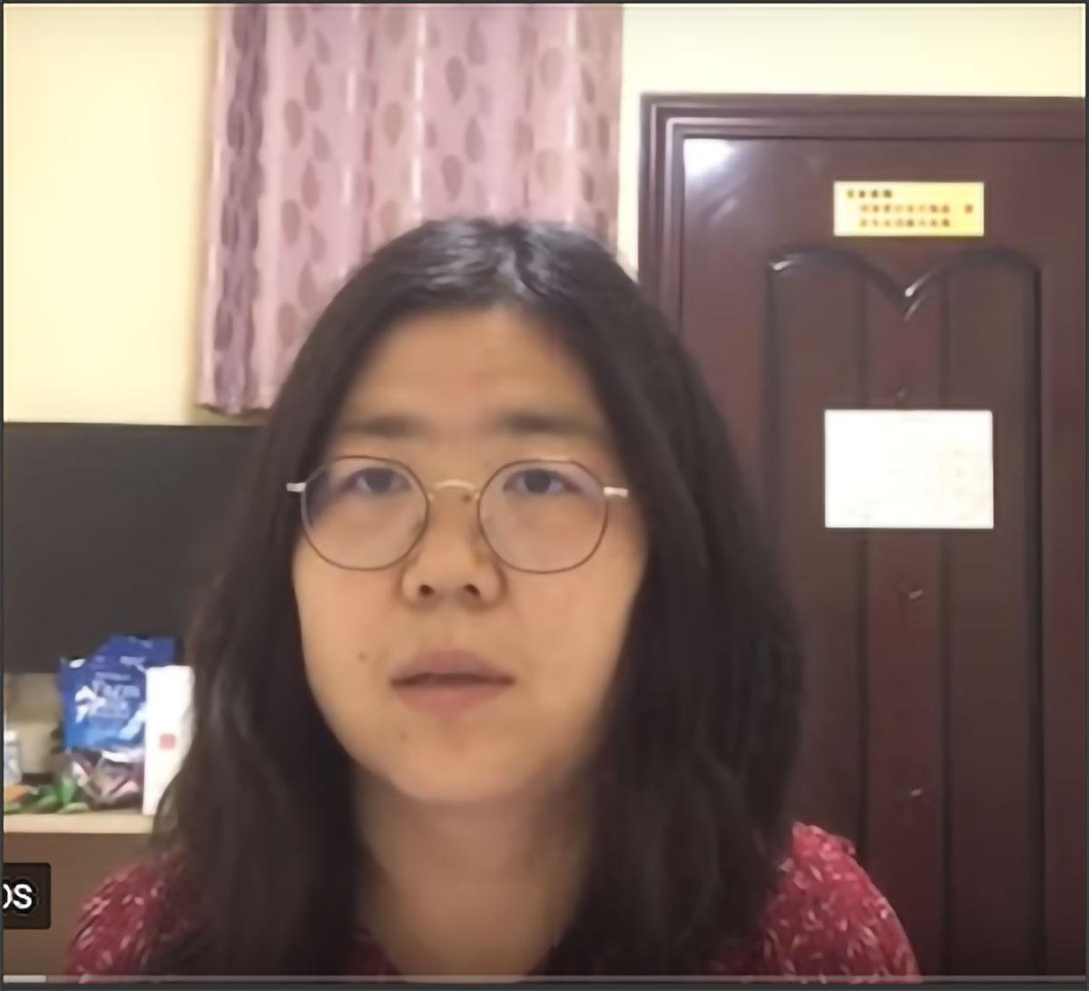 zhang zhan arrest