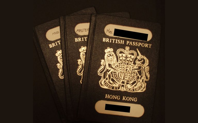 British National Overseas (BNO) passport