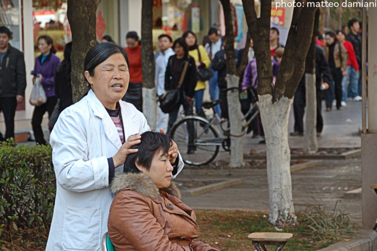 blind massage in China