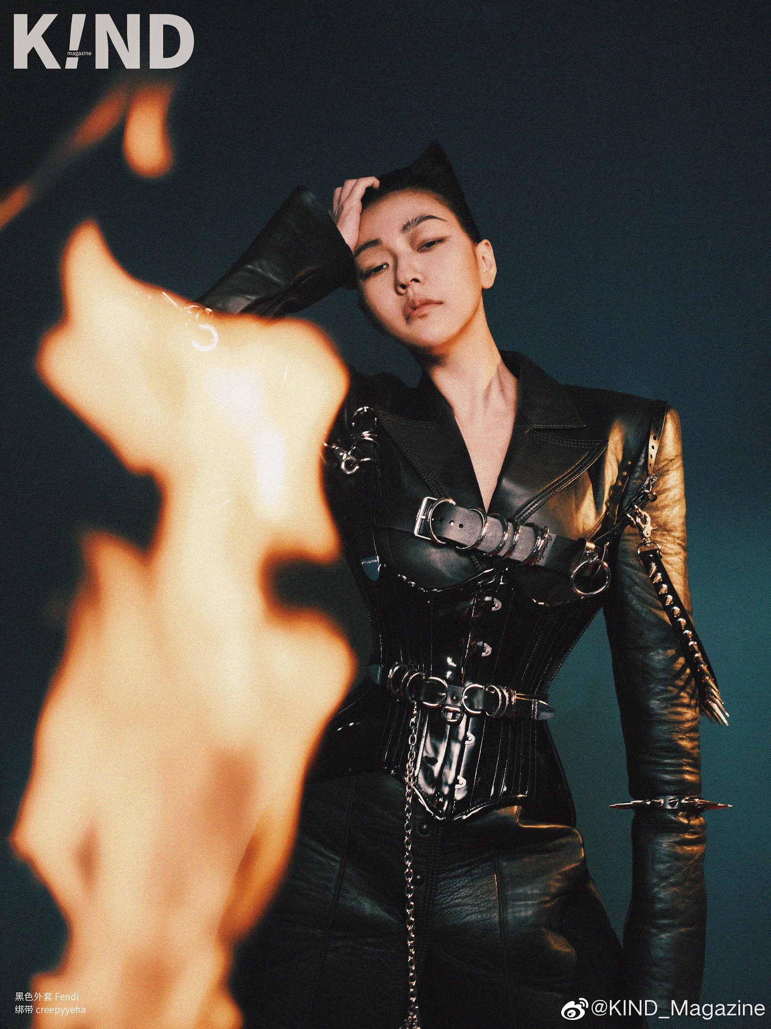 , Dee Hsu poses for photo shoot