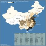Comparing Chinese Provinces and Countries by GDP