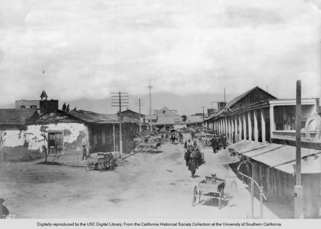 View_of_Calle_de_Los_Negros_looking_north_Los_Angeles_ca1882